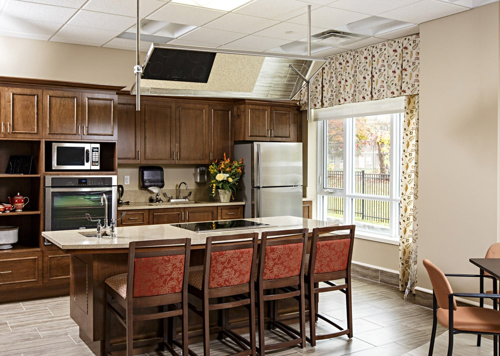 Carlingwood Retirement Community Communal Kitchen